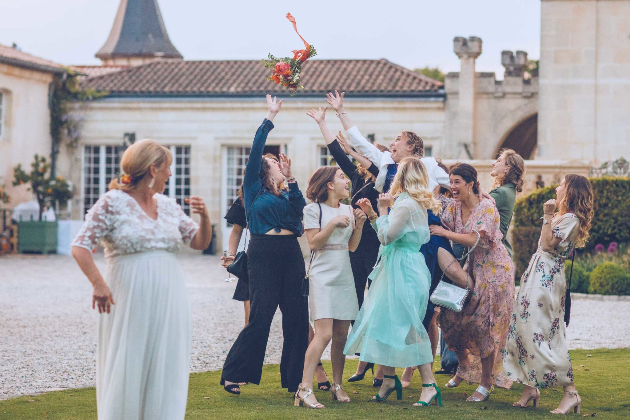 mariage chateau pape clement gironde